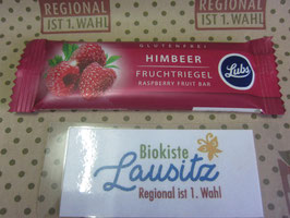 Lubs Bio Himbeer Fruchtriegel  30g