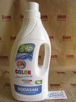 Sodasan Waschmittel Color sensitiv 1,5l