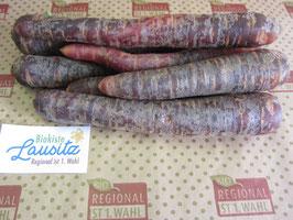 Bio Möhren violett (3,20 € / kg)