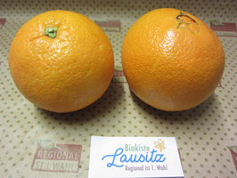 "Bio Orangen ""Valencia Late""  (3,80 / kg)"