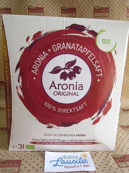 Bio Aronia- & Granatapfelsaft 3l