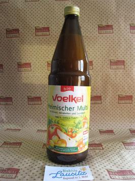 Voelkel Bio Heimischer Multisaft Birne, Mirabelle 0,75l