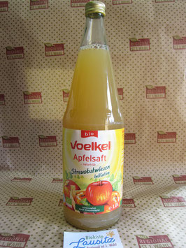 Voelkel Bio Streuobst-Apfelsaft naturtrüb 1l