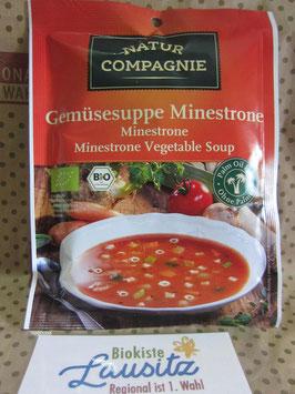 Bio Gemüsesuppe Minestrone 50g