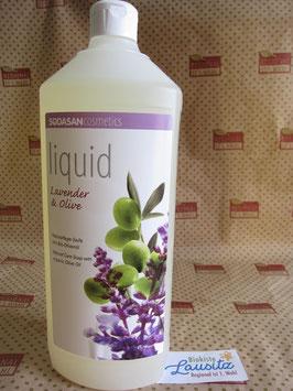 Sodasan Flüssigseife Lavendel-Olive 1l