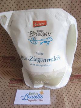 Bio Ziegenmilch 2,8% 0,5l