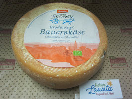 Brodowin Bio Bauernkäselaib Möhre-Kürbiskern ca. 2 kg (19,98 € / kg)