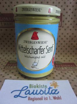 Zwergenwiese Bio Mittelscharfer Senf 160g