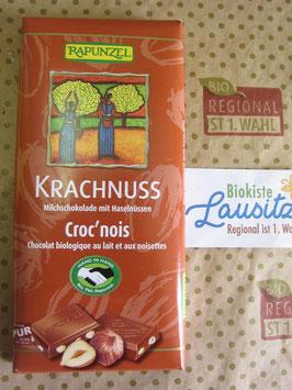 Rapunzel Bio Schokolade Krachnuss 100g