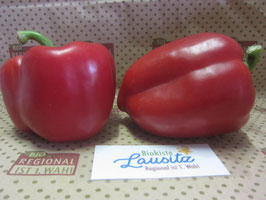 Bio Paprika rot  (7,98 € / kg)