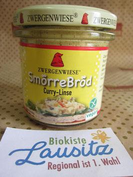 Zwergenwiese Bio Aufstrich Smörre Bröd Curry-Linse 140g
