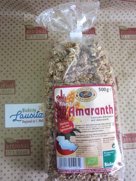Märkisches Landbrot Bio Amaranth Cluster 500g