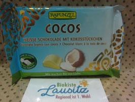 Rapunzel Bio Cocos Schokolade 100g