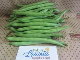 Bio grüne Buschbohnen  (7,98 € / kg)