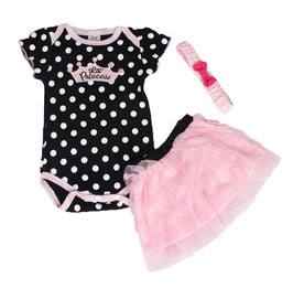 "3-teiliges Body Set ""Lil Princess"""