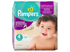 Pampers Windeln Gr. 4 Active Fit Maxi - 3 Für 2