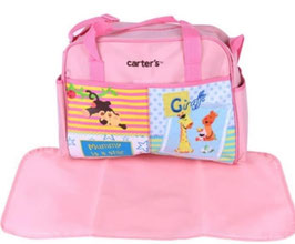 "Wickeltasche Carters ""Zoo"" Rosa"