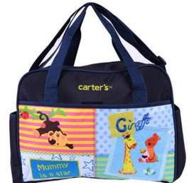 "Wickeltasche Carters ""Zoo"" Blau"