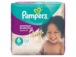 Pampers Windeln Gr. 6 Active Fit Extra Large - 3 für 2