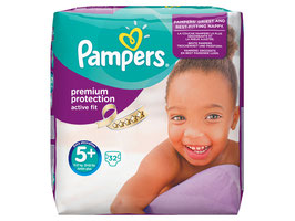 Pampers Windeln Gr. 5+ Active Fit Junior Plus - 3 Für 2