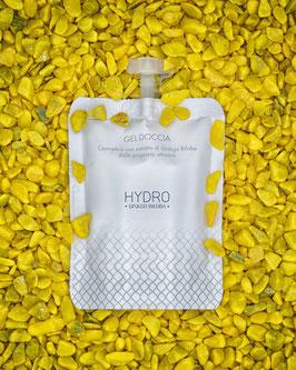 Gel doccia nutriente con estratto di Ginkgo Biloba in formato Doypack da 30ml.