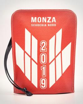 """Pochette in eco-pelle """"Monza Scuderia Nord"""" Bauletto Hydro Eco-Leather Bag Unisex"""