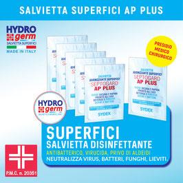 Salvietta disinfettante, antibatterica, virucida con Presidio Medico Chirurgico per la pulizia profonda di ogni superficie.