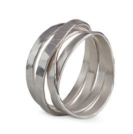 Unisex Silber-Ring Ama by Stella InJewels
