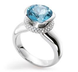 Aquamarin Ring by Christian Stockert