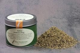 Sieben 100 gr. Sehr frische, leichte und fruchtige Pfeffermischung, die durch den Chilianteil angenehm würzig ist.