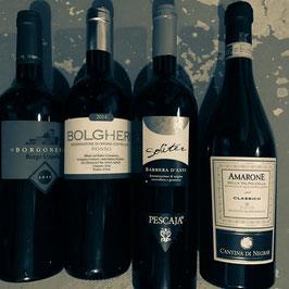 4 leckere Rotweine aus Italien