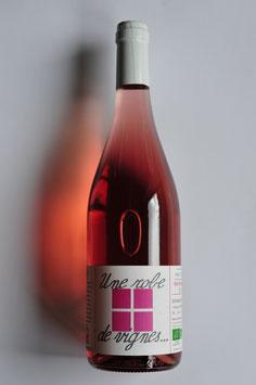"""2017 Rosé """"Une robe de vignes"""" Domaine des Palais"""