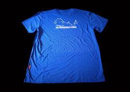 T-Shirt blau Herren