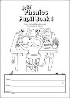 Jolly Phonics Pupil Book 1(B&W) UK半筆記体JL624
