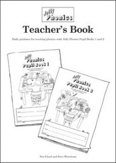 Jolly Phonics Teacher's Book(B&W)UK半筆記体JL616
