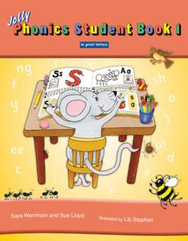 Jolly Phonics Student Book 1(US)ブロック体 JL810