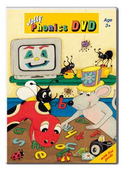 Jolly Phonics DVD (PAL)UK版
