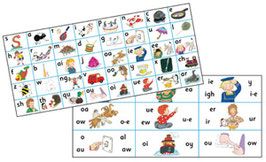 Jolly Phonics Letter Sound Strips(30枚入り)