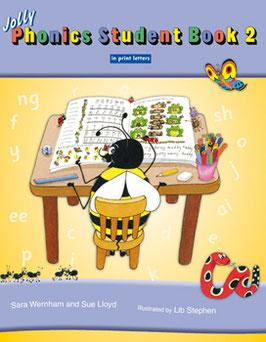 Jolly Phonics Student Book 2(US)ブロック体 JL829