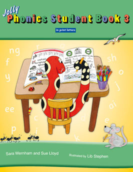 Jolly Phonics Student Book 3(US)ブロック体 JL837