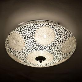 Oosterse Mozaiek Plafondlamp Transparant