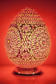 Oosterse Mozaïek Tafellamp Papaya