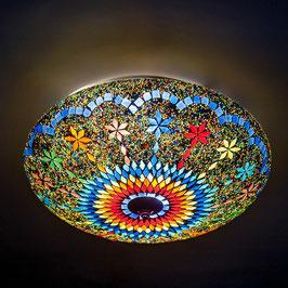 Oosterse Mozaïek Plafondlamp Multi Colour