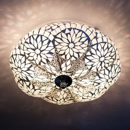 Oosterse Plafondlamp Meloen Transparant