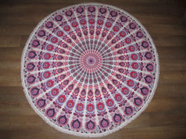 Oosterse roundie roze/paars