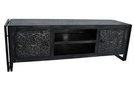 Oosters tv-meubel industriële look