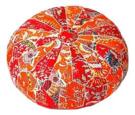 Oosterse Poef Oranje