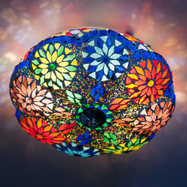 Oosterse Mozaïek Plafondlamp Meloen