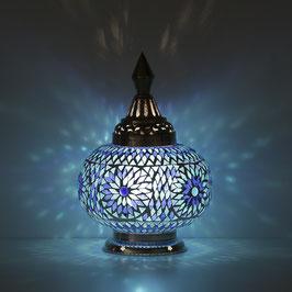 Oosterse Mozaïek Tafellamp Pompoen