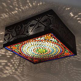 Oosterse Mozaïek/Filigrain Plafondlamp